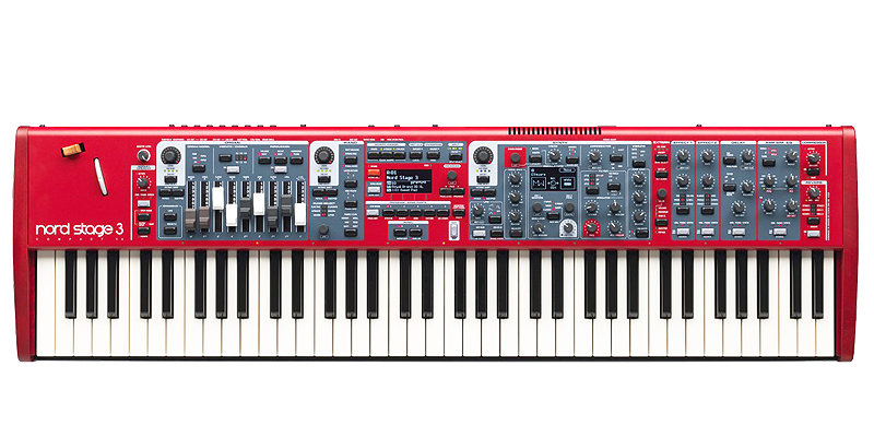 Nord Stage 3 Compact Stage piano με 73 ημι-βαρυκεντρισμένα πλήκτρα