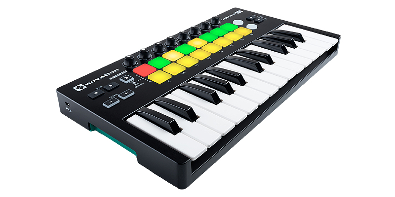 Novation LaunchKey Mini MKII USB midi keyboard με 25 δυναμικά mini πλήκτρα