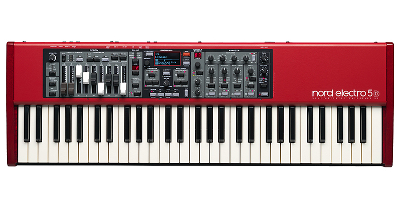 Nord Electro 5D 61 sythesizer με 61 δυναμικά πλήκτρα
