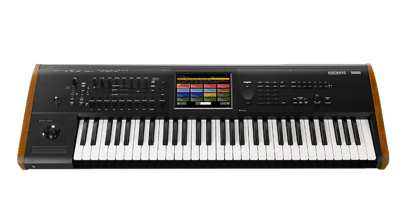 Korg Kronos 2 61 workstation/sampler workstation/sampler με 61 δυναμικά πλήκτρα