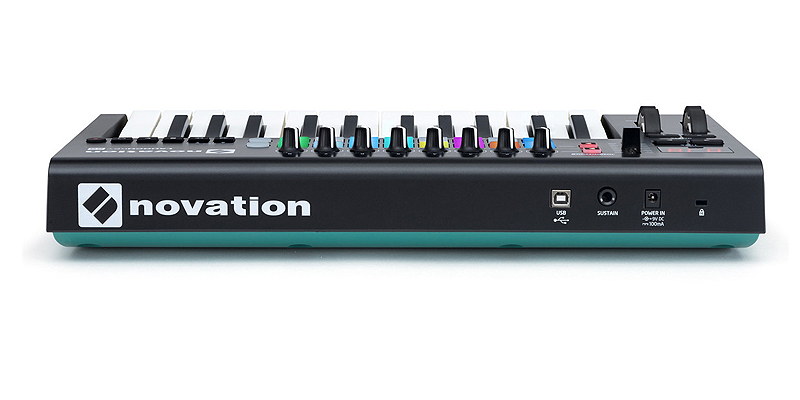 Novation Launchkey 25 MKII USB midi controller με 25 δυναμικά πλήκτρα