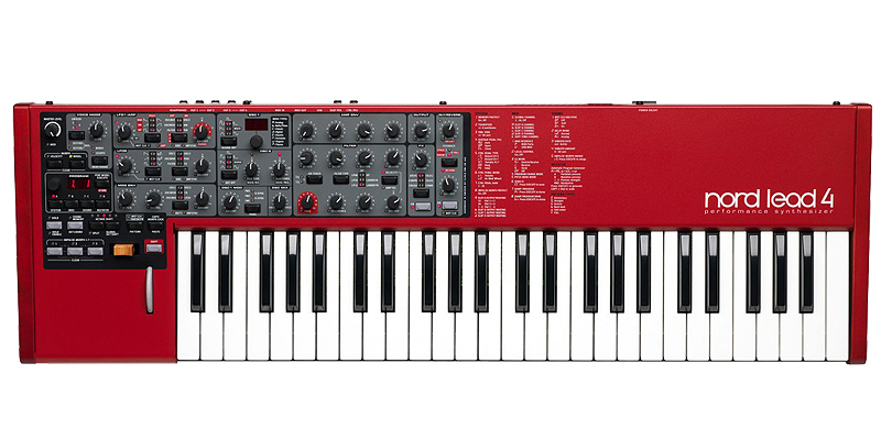 Nord Lead 4 four-part multi-timbral synthesizer με virtual analog μηχανή ήχου