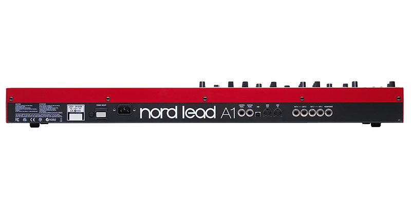 Nord Lead A1 αναλογικό modeling synthesizer με 49 δυναμικά πλήκτρα