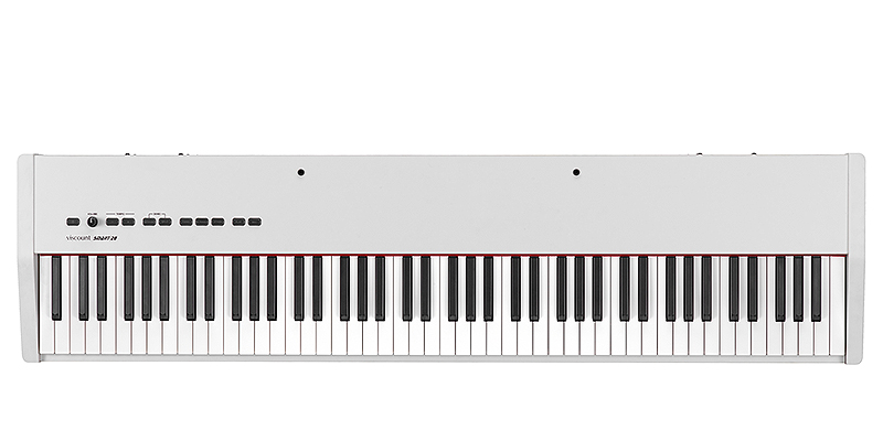 Viscount Smart 20 White stage piano με 88 βαρυκεντρισμένα πλήκτρα