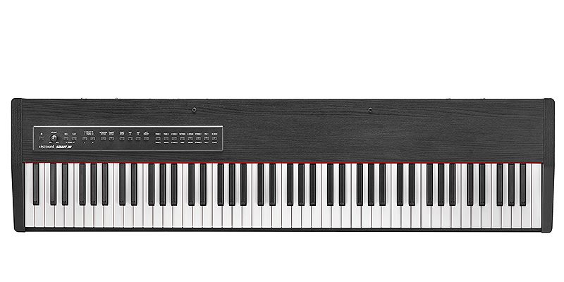 Viscount Smart 30 balck stage piano με 88 βαρυκεντρισμένα πλήκτρα