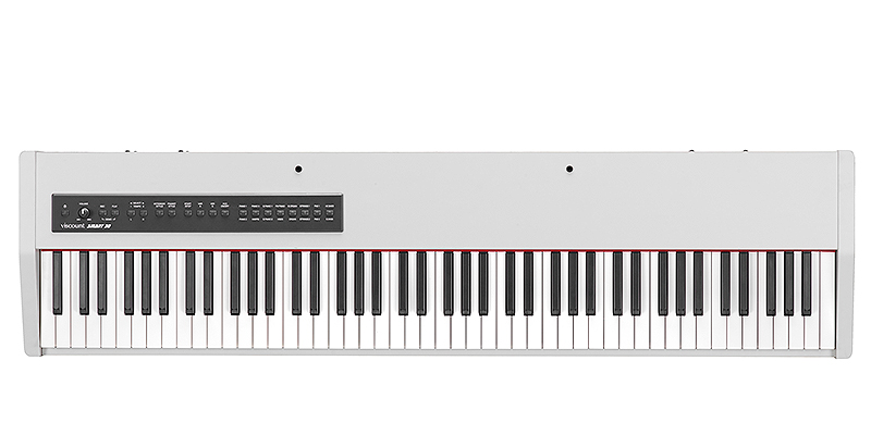Viscount Smart 30 White stage piano με 88 βαρυκεντρισμένα πλήκτρα